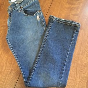 Levi's slouch 504 straight legs, size 9